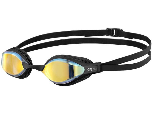 arena Airspeed Mirror Gafas Natación, yellow copper/black
